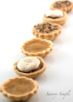 Thanksgiving Pie Petit Fours