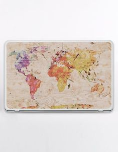 image 0 Macbook Skin, Laptop Skin, Plastic Card, Texture Art, Linen Fabric, Happy Shopping, Are You Happy, Color Schemes, Vintage World Maps