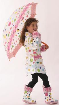 polka dots for a rainy day
