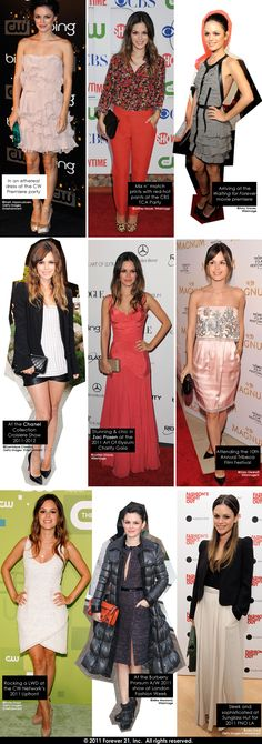 if I could have anyones closet it would without a doubt be Rachel Bilson's