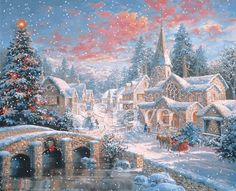 I love scenes like this. Wished I lived back then! Christmas seemed so much more special then than now. #christmas #special #winter