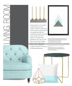 """Living Room - Neon"" by by-jwp ❤ liked on Polyvore featuring interior, interiors, interior design, home, home decor, interior decorating, Kate Spade and living room"
