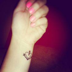 Cute, small wrist tattoo