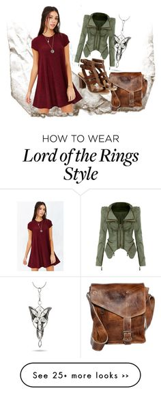 """""""Lord of the Rings Inspired Everyday Look"""" by jrparsons on Polyvore"""