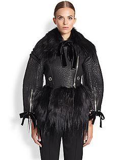 Alexander McQueen Leather...$21,000 and worth EVERY penny :)