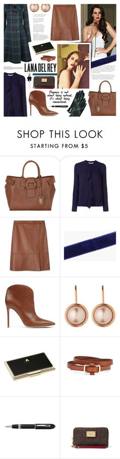 """""""Lana Del Rey"""" by kumi-chan ❤ liked on Polyvore featuring Roger Vivier, Diane Von Furstenberg, Tory Burch, Boohoo, Gianvito Rossi, Dyrberg/Kern, Alice + Olivia, Kate Spade, Fountain and MICHAEL Michael Kors"""