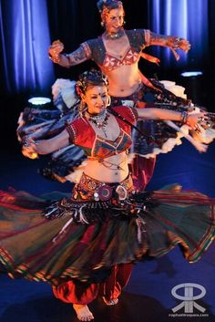 American Tribal Style #bellydance