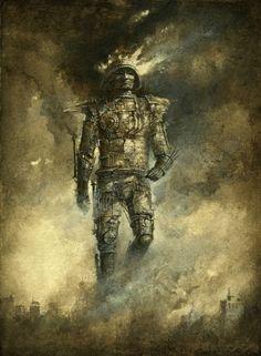 Yaroslav Gerzhedovich art paintings photography surrealism fantasy dark gothic