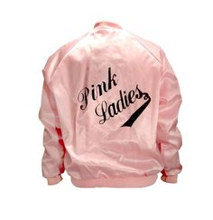 "Jacket Pink Satin ""Pink Ladies"""