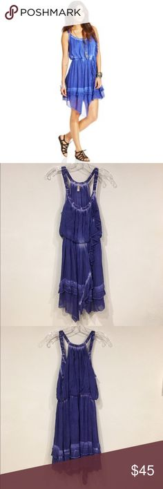Free People Aphrodite tie dye dress Excellent condition. No trades. 0105 Free People Dresses Asymmetrical