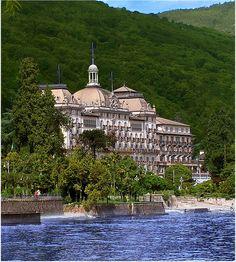 Grand Hotel Des Iles Borromees. Stresa. Lago Maggiore, Piedmont. Italy   Flickr - Photo Sharing!