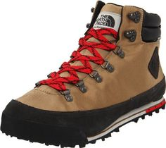 The North Face Back-To Berkeley Hiking Boots Utility Brown/TNF Black Mens The North Face. $85.99. PU-coated, ballistic polyester upper. synthetic. Waterproof suede mudguard. 109 g PrimaLoft? Eco Insulation. Hydroseal? waterproof membrane. Gusseted tongue