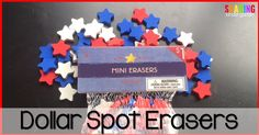 Dollar Spot Erasers
