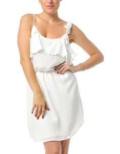 Shop ModDeals.com for discounted Pretty Girl Dress in White. Find cheap womenís Club and Party Dresses in our online fashion clothes & accessories store.