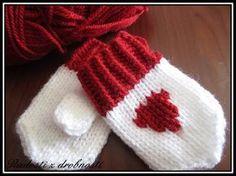 Radosti z drobností: Návod na pletené mini rukavičky