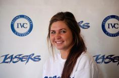 Congratulations to IVC freshman women's volleyball player Annie Mitchem. She was named the 2013 American Volleyball Coaches Association (AVCA) Two-Year College Player of the Year. She was also honored as the Most Valuable Player of the Orange Empire Conference, All-State and All-American. Way to go, Annie! Coaching Volleyball, Volleyball Players, Women Volleyball, Freshman, Coaches, Athletics, Annie, Conference, Congratulations