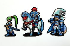 The Fire Emblem Lord trio. These are awesome characters, and the ones the whole game center around. Also, they are the only characters who get you a game over if one of them die. ...
