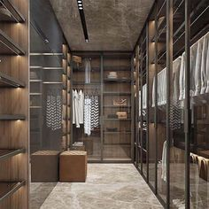 Luxury Closet Ideas Walk In Closet Design Dressing Room Walk In Closet Design, Bedroom Closet Design, Closet Designs, Hotel Bedroom Design, Home Design Decor, Modern House Design, Home Interior Design, Design Ideas, Design Interiors
