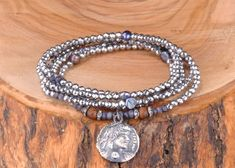 Hematit Taşlı 925k Beş Sıra Antik Bileklik Zet.com'da 200 TL Beaded Bracelets, Silver, Jewelry, Fashion, Moda, Jewlery, Jewerly, Fashion Styles, Pearl Bracelets
