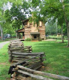 primitive pond homestead