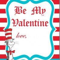 Dr Seuss Valentines