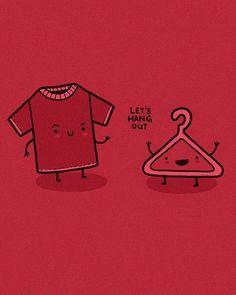 Hang out  #t shirt #playera #gancho #hang