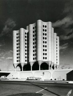 Bertrand Goldberg, St. Joseph's Hospital in Tacoma, WA, 1969...wow! Thats what St. Joe's looked like. Pretty cool
