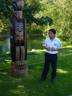 Totem Pole Storytelling By Sleutelgat Via Flickr