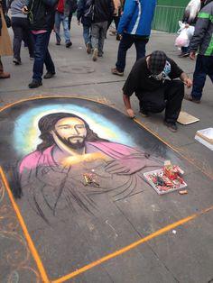 Arte urbana Santiago do Chile