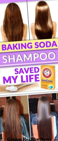 Hair Remedies This Baking Soda Shampoo Saved My Hair - Baking soda is an incredibly easy way to clean your hair! It sounds shocking but you'll see the results the moment you decide to try [. Baking Soda For Hair, Baking Soda Shampoo, Baking Soda For Health, Baking Soda Uses, Hair Remedies, Tips Belleza, Hair Health, Grow Hair, Hair Loss