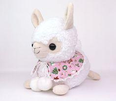 Christmas alpaca sewing pattern