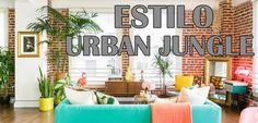 estilo decorativo urban jungle http://www.decoracionpatriblanco.es/2016/07/tendencia-2016-urban-jungle.html