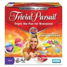 I found this exact game of Trivial Pursuit on Amazon for $35.00, while shopping in Saginaw with my boyfriend at Toys R Us I found it mismarked for $9.98, brought it up to the cash register where it was actually $3.50.  Score.
