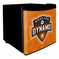 Houston Dynamo Dorm Room Mini-Fridge from Team Sports. Click now to shop MLS Game Day & Tailgating Coolers & Ice Chests.