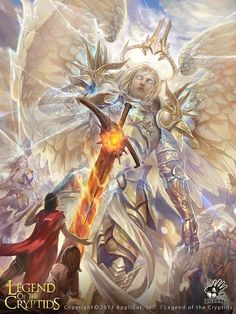 legend of the cryptids angel - Google Search