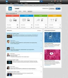 #LinkedIn, the largest professional network has also altered the way #CompanyPage notifications are displayed.