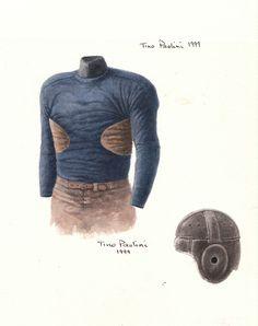 New York Giants 1929 uniform artwork by Scott Sillcox, via Flickr
