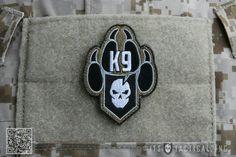 ITS Warrior Dog Foundation K-9 Morale Patch