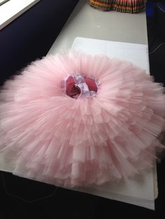 Ballet. Pink. Tutu skirt. Made by Helss