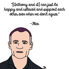 Flea Talks About His BFF, Anthony Kiedis. Illustration by Jena Ardell for OC Weekly Music. #AnthonyKiedis #Flea #BFFs #RHCP #RedHotChiliPeppers
