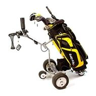 Behold: a Cart-Tek remote control golf cart. This robotic caddy can carry your golf gear around for you with its motorized wheels. This kind of thing would keep me from messing up my back and shoulder lugging around a heavy golf bag. Golf Trolley, Golf Carts, Golf Push Cart, Electric Golf Cart, Golf Club Grips, Golf Club Sets, Lead Acid Battery, Play Golf, Golf Tips