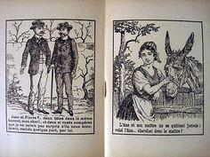 Vintage Children's Questions-Devinettes de l'Imagerie d'Epinal Serie IV Inv1481