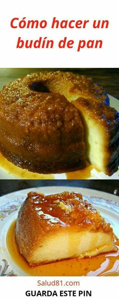 Q bueno se ve No Bake Desserts, Dessert Recipes, Pan Dulce, Quesadilla, Carrot Cake, Flan, Deli, Crockpot, French Toast