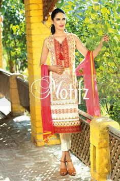 #motifzembroideredlawn #lawn #motifzlawn #motifz #brandedlawn MWU01006-999-WHITE Item Type: UN Stitched Three Piece, Shirt Fabric: Lawn, Includes: Front, Back, Sleeves, Crinkle Embroidered Dupatta, Pure Cotton Trouser Retail Price: 5,490