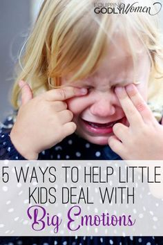 Being a little kid can be tough. Being a parent to a little kid can be even tougher. Here are five tips for getting through those hard days.