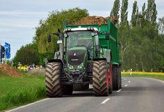 Fendt-Traktor bei Euskirchen - 08.05.2012