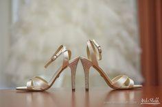 Champagne wedding shoes with jeweled heels #Michiganwedding #Chicagowedding #MikeStaffProductions #wedding #reception #weddingphotography #weddingdj #weddingvideography #wedding #photos #wedding #pictures #ideas #planning #DJ #photography #shoes #bride