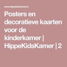 Posters en decoratieve kaarten voor de kinderkamer   HippeKidsKamer   2