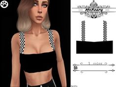 The Sims 4 Checker Straped Tanktop Ghetto Outfits, The Sims 4 Packs, Sims Community, Sims 4 Clothing, Sims 4 Cc Finds, Sims Mods, Sims Resource, The Sims4, Ts4 Cc