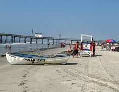 Ocean City, NJ Lifeguard Stand and Boat by twg1942, via Flickr